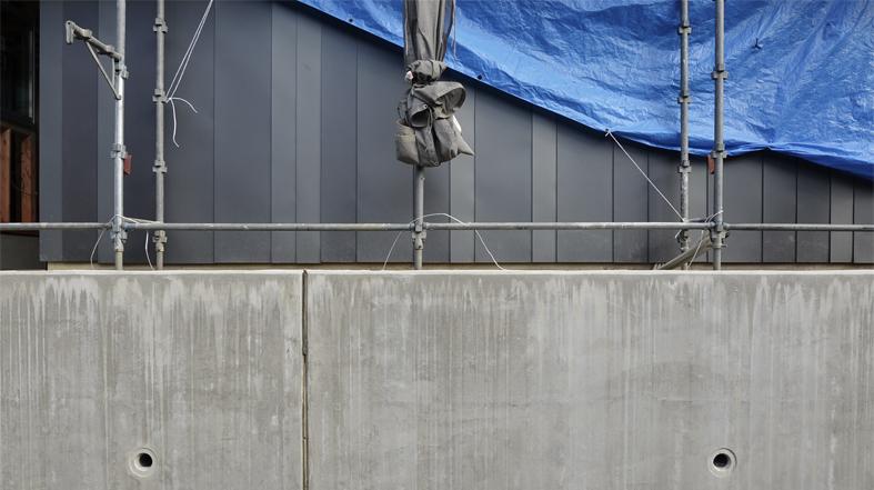 中山の家 外壁工事