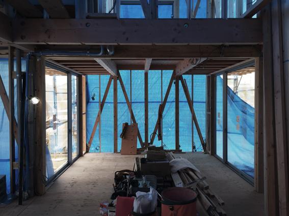 堀江の家 進捗状況