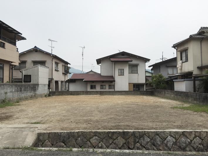 敷地調査×2