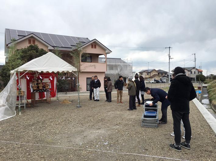 新屋敷の家 地鎮祭