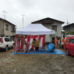 焼山の家 地鎮祭