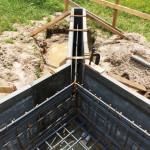 石内の家 基礎工事