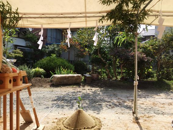 安芸高田の家 地鎮祭