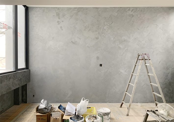 牛田本町の家 内部塗装ほぼ完了!
