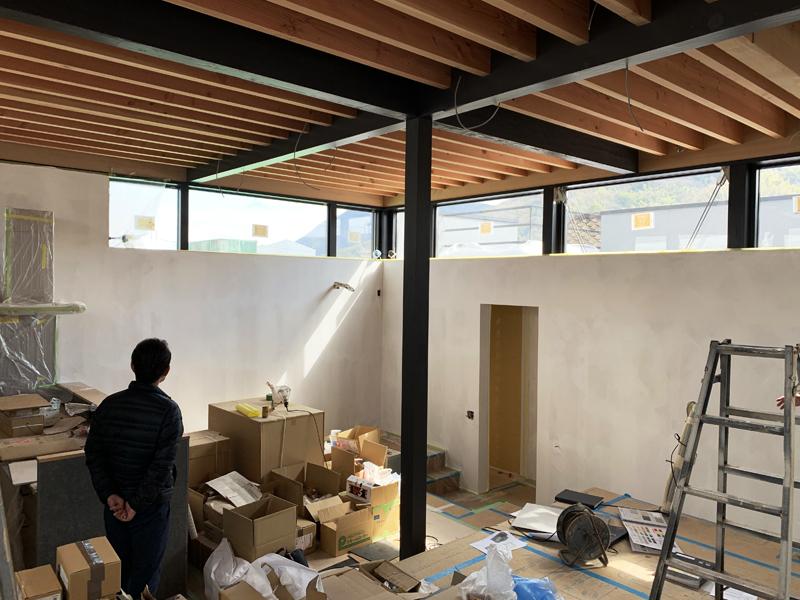 広の家 内装工事