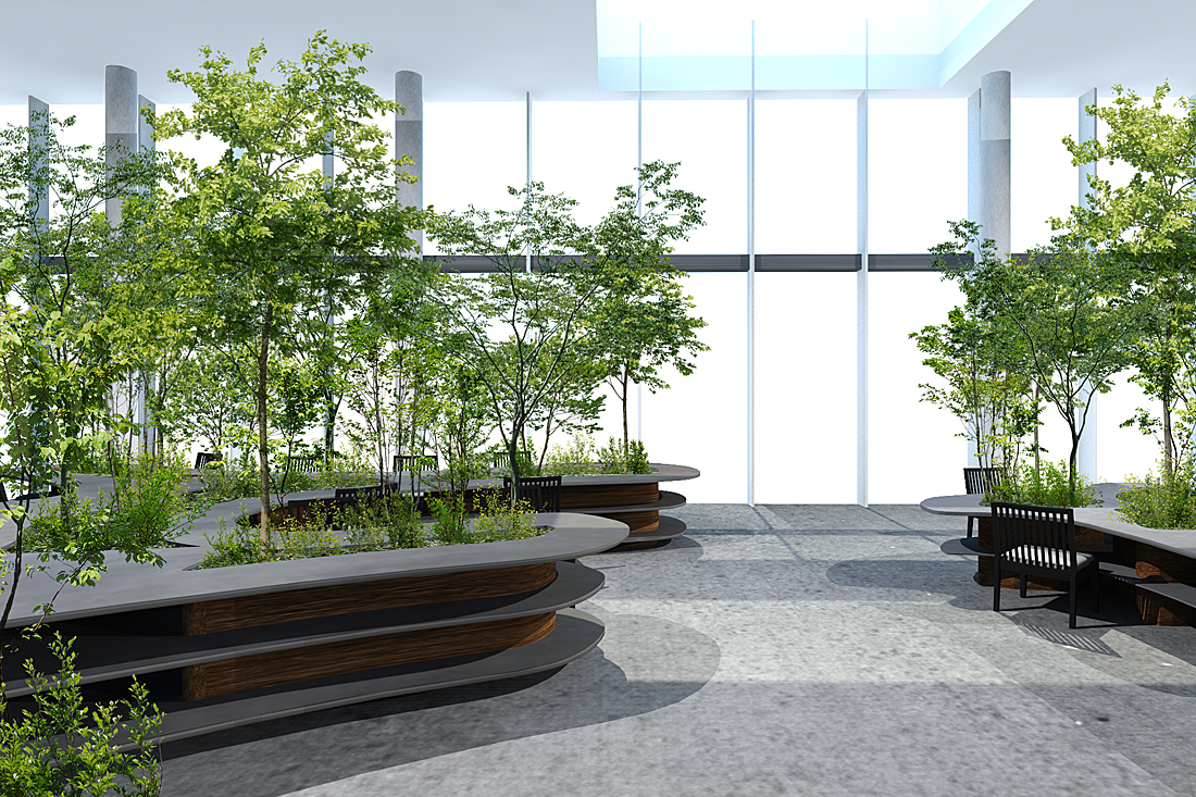 Landscape furniture